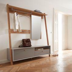Schuhschrank FYN · Pfister Armoire Entree, Desk Grommet, Closet Drawers, Drawer Unit, Wood Desk, Bunk Beds, Wardrobe Rack, Miniature, Entryway