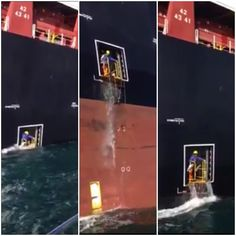 Check out the video below showing preparations for a pilot transfer at the Port of Sines in Portugal. The video was posted online on Wednesday with the caption: This is the new breed of seamen… When you ask for a good lee, that´s what you get… What about the safety of this 2nd Mate? Communications? …