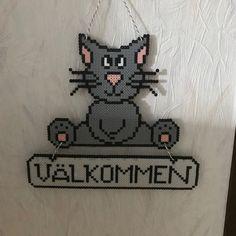 Hama, Artkal, cat for door, välkommen/welcome