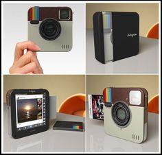 Instagram Socialmatic Camera. Prints instagram photos like a polaroid.