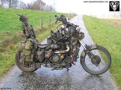 Attack Choppers: Random inspirational bikes: Survival bikes!