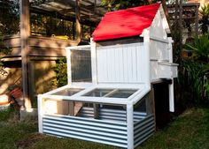 Chicken coops coops and chicken on pinterest Yahoo better homes and gardens