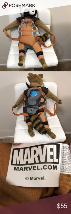 Backpack Guardians of the Galaxy Bags Backpacks