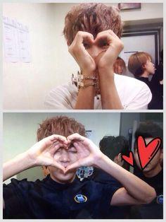 BTS - heart sign -- V