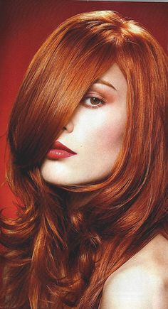 Vibrant reds: Overstatement or just right? Find your own perfect hair color match and cover grays at home @ www.eSalon.com