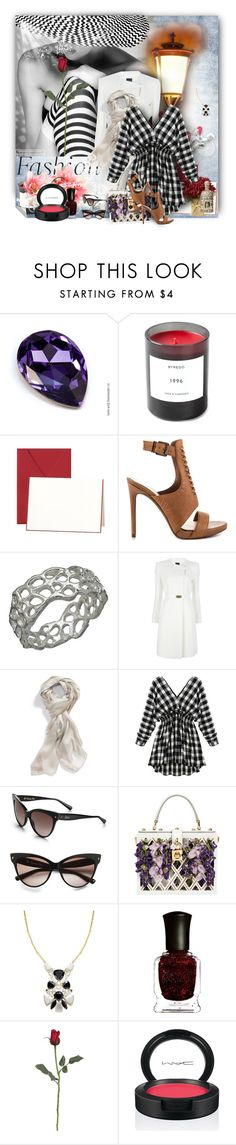 """""""V-neck Dress"""" by wildnature ❤ liked on Polyvore featuring Byredo, CO, Jessica Simpson, Amery Carriere Designs, Fendi, Burberry, Christian Dior, Dolce&Gabbana, Kate Spade and Deborah Lippmann"""