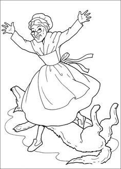 märchen und geschichten: ausmalbilder und malvorlagen   ausmalbilder, ausmalen, rotkäppchen und