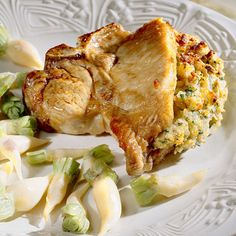 Learn how to make Pork Chops With Ripieno. MyRecipes has 70,000+ tested recipes and videos to help you be a better cook