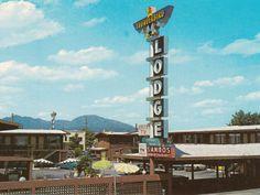 Thunderbird Lodge 1350 Pine St Redding, CA #motels #midcentury #architecture #retro