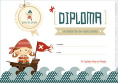 Gracias, gracias, gracias a todas las piratas que han confiado en nosotros para despedir el cole como se merece... ¡Diploma al mejor FIN DE CURSO pirata para todas vosotras! Pirate Activities, Infant Activities, Activities For Kids, Pirate Theme, Pirate Party, Orla Infantil, The Pirates, Art Journal Prompts, Art Projects For Teens