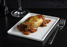 Grass-fed Beef Stuffed Cabbage Rolls in a red wine tomato sauce  Stuffed Cabbage Roll Recipe