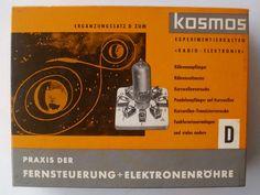 Radio + Elektronik, Zusatzkasten Fernsteuerung & Elektronenröhre 1959, gut erhalten!