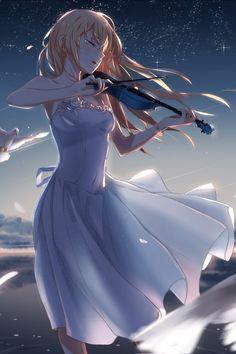 Me siga para mais postagens --> Kaori ? Anime shigatsu wa kimi no uso Your Lie In April Manga Girl, Manga Anime, Sad Anime, Fanarts Anime, Anime Demon, Anime Art Girl, Me Me Me Anime, Anime Love, Anime Characters