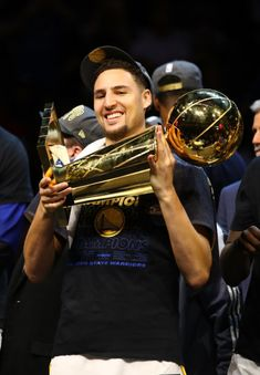 Klay Thompson 2018 Nba Champions, Golden State Basketball, Splash Brothers, Christian Yelich, Shooting Guard, Draymond Green, Kevin Durant, Stephen Curry, Nba Players