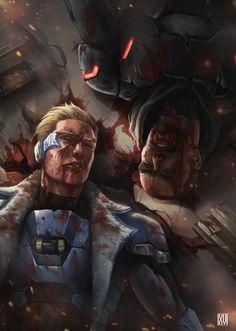 #overwatch #reaper #soldier76