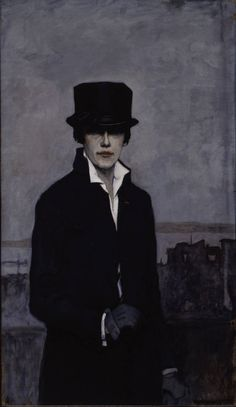 Romaine Brooks - Self Portrait (1923)