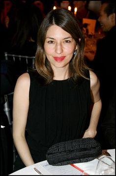 Sofia Coppola in Lanvin attends the Sidcation Gala dinner January 2007   Photo © Stephane Cardinale   marieclaire.it