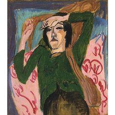 Obras de arte de Ernst Ludwig Kirchner (Alemania 1880 - 1938)