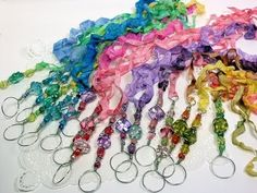 I'm Having a Lawrence Welk Moment...DIY Bubble Wand Necklace Tutorial!