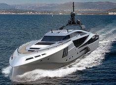 Palmer Johnson – Super World Yacht   Palmer Johnson 48 SuperSport Yacht - front view …