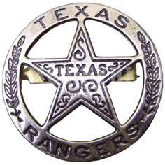 Texas Rangers Circle Star Cut Out Badge Happy Larry Texas Rangers Law Enforcement, Law Enforcement Badges, Armadura Ninja, Walker Texas Rangers, Only In Texas, Loving Texas, Texas Pride, Lone Star State, Texas History