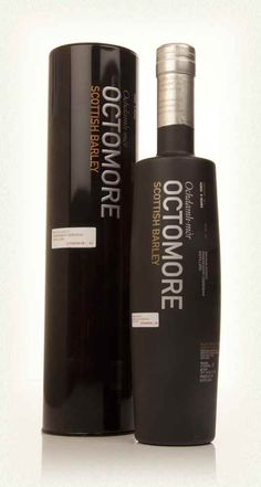 Bruichladdich Octomore  06.1 5 Year Old Scottish Barley The sixth edition of experimental Octomore, famous for being made with the most heavily peated barley on the planet. Bruichladdich are still able to impart a delicate, graceful emphasis within this intense whisky.