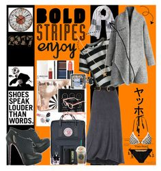 """""""Bold Stripes"""" by angelihenkle ❤ liked on Polyvore featuring Christian Louboutin, Uttermost, CO-OP Barneys New York, Michael Stars, Chicwish, Christian Dior, Kevyn Aucoin, Clé de Peau Beauté, Paula Dorf and Ashley Stewart"""
