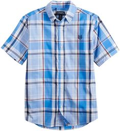 cf4426a9 Boys 4-20 Caleb Button-Down Shirt #button#Chaps#shirt Walmart