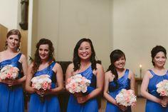 Pretty blue 'maids via Jamie Delaine.