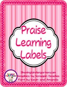 $2- What is IncludedThere are 7 pages of labels . Each page has contains 30 labels, with 3 sets of 10 labels on each page (except for star student pa...