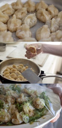 Golden Potstickers by 101cookbooks #Potstickers #101cookbooks