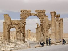 Untitled | by newpalmyra Palmyra, In 2015, Historical Images, Syria, Destruction, Art And Architecture, Notre Dame, Survival, Explore