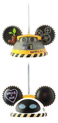 Disney Ear Hat Ornament - WALL•E Limited Edition