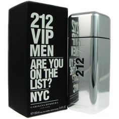 6c4958554eb Carolina Herrera 212 VIP Men s 3.4-ounce Eau de Toilette Spray