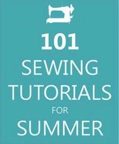 101 Sewing Tutorials for Summer #lifehacks, #usefultips, https://apps.facebook.com/yangutu