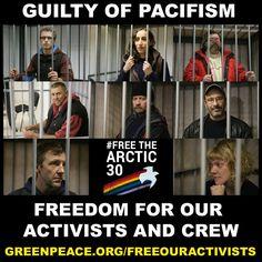 กรีนพีซแถลง ข้อกล่าวหารัฐบาลรัสเซียต่อนักกิจกรรมรณรงค์ปกป้องอาร์กติกว่าเป็นโจรสลัด ถือเป็นการทำลายต่อหลักการประท้วงอย่างสันติวิธี!