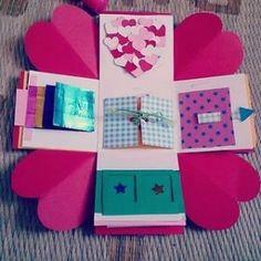 最近インスタグラムやmix channelで話題の「プレゼントボックス」!韓国発の手作りのクラフトボックスのこ...