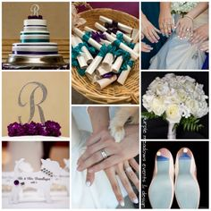 purple and teal wedding_castaway burbank hills