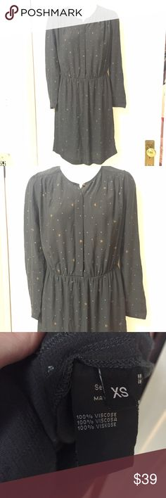 Sessun, French Designer Dress in XS This dress is from rising star Sessun an up and coming star in fashion forward elegance.  Size extra small , great condition with all buttons and seams in tact. Sessun Dresses Mini