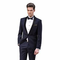 DAROuomo 2016 New Arrival Male Wedding Dress Tuxedos Men's Party Suit Slim Fit Full Dress DR8800