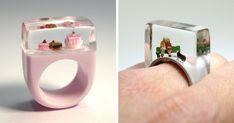 Miniature Scenes Inside Jewelry By Isabell Kiefhaber | Bored Panda