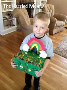 Getting The Gold! A St. Patrick's Day Kids Craft: Making A Leprechaun Trap