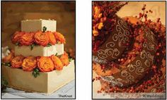red berries for fall wedding cakes