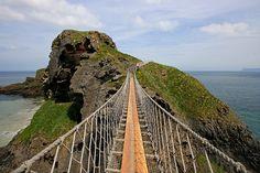 Carrick-a-Rede Rope Bridge - County Antrim, Northern Ireland