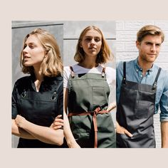 The Many Looks of TOM | There are so many ways to wear our Tom Apron, dressing it up or down with the right shirt or tee to take your uniform from morning barista to dinner service with ease. Now that's winning #aprongoals🙌 Restaurant Apron | Server Uniform | Restaurant Decor Ideas Waiter Uniform, Uniform Shop, Navy Color, Black And White Colour, Navy And White, Restaurant Aprons, Restaurant Uniforms, Toms Style, Tea Cafe