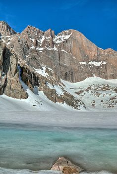 Longs Peak, Chasm Lake Rocky Mountain National Park, Colorado