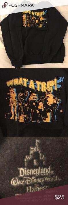 Muppets Disney Sweatshirt Black Muppets sweatshirt from Disney World. Disney Tops Sweatshirts & Hoodies
