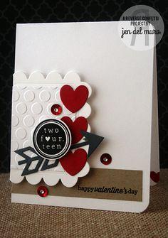 Reverse Confetti | Crushin' [Valentine's Day Card]