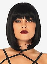 Short Natural Bob Wig, Black Hairstyles With Weave, Side Part Hairstyles, Black Women Hairstyles, Weave Hairstyles, Curly Faux Locs, Blonde Pixie Cuts, Black Wig, Long Black, Naturally Curly Bob
