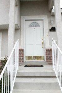 Tuesday Tutorial:  How to Paint your Front Door